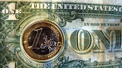 Euro/dollar.