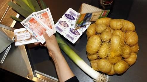 Les «tickets resto» paieront fruits et produits laitiers