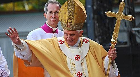 Benoît XVI,à Barcelone,le 7 novembre dernier.