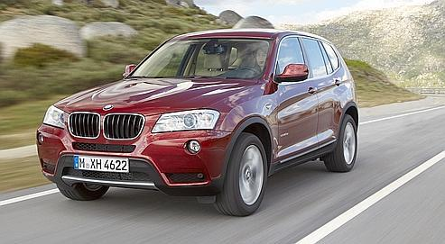 bmw x3 le luxueux retour d 39 un suv en haut de forme. Black Bedroom Furniture Sets. Home Design Ideas