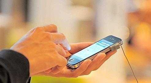 Les smartphonesde dernière génération.