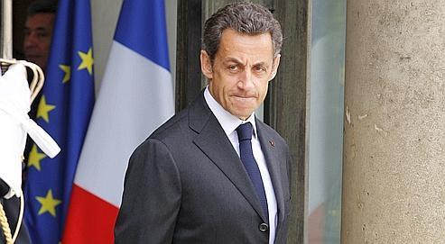 Nicolas Sarkozy,en juin dernier. L'Élysée considère que, dorénavant, l'important est de «rassembler son camp».