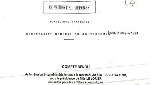 Ce document classé «Confidentiel défense» rend compted'une réunion interministérielle au cours de laquelle Bercy émet des réservessur le contratavec Karachi.