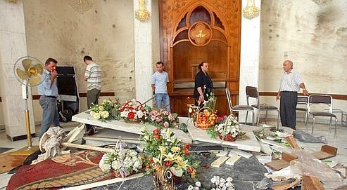 La cathédrale du drame. Le 31 octobre dernier, la cathédrale syriaque catholique de Bagdad était attaquée par un commando d'al-Qaida. Quarante-six chrétiens furent tués dans cet attentat.