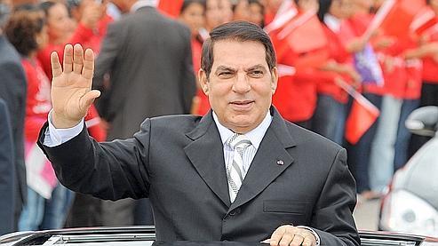 Zine El Abidine Ben Ali en octobre 2009.
