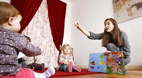 L'association Babylangues, située à Bordeaux, propose des cours d'anglais à des enfants de moins de trois ans.