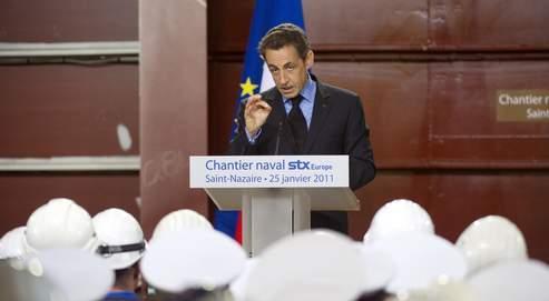 Mardi, devantle personnel des chantiers navals de Saint-Nazaire, Nicolas Sarkozy a assuré qu'il ne se «contenterait pas d'une enquête sans suites » à proposde la disparition de Laëtitia.