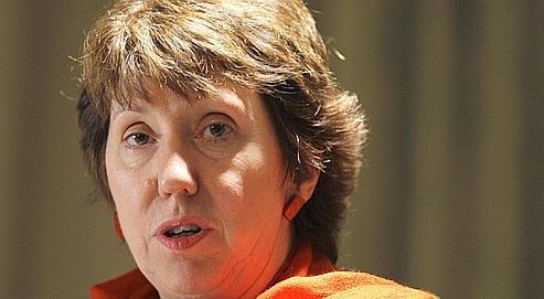 Catherine Ashton, le 13 janvier.