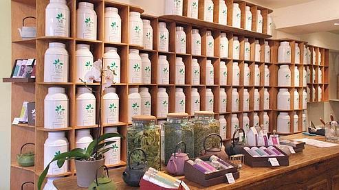 Les comptoirs à thé sont de plus en plus nombreux dans la capitale. (Photo : DR)