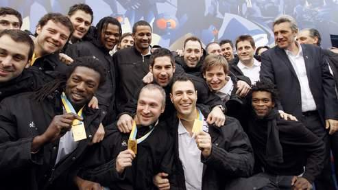 L'Equipe de France de handball, championne du monde 2011.