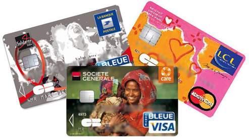 Depuis le 1er octobre 2007, le «cobranding», une pratique qui consiste à apposer une marque commerciale sur une carte bancaire classique, est autorisé en France.