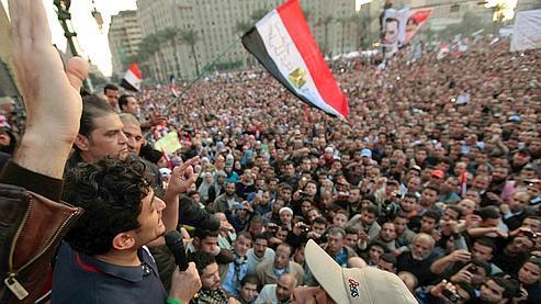 Wael Ghonim a été acclamé place Tahrir mardi.