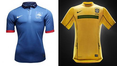 France-Brésil, la plus belle «vitrine» publicitaire pour Nike.