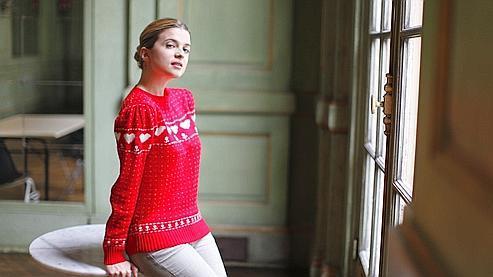 « J'ai tendance à tout faire à pied, on voit bien mieux la ville » confie Cécile Cassel, qui vit au coeur de Paris.