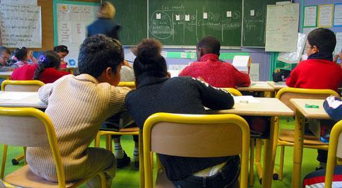 Au niveau de l'école primaire, la France affiche 17,8% de taux de redoublement quand la Grèce est à 2% ou l'Autriche à 4,9%. (Crédits photo: Paul Delort/Le Figaro)