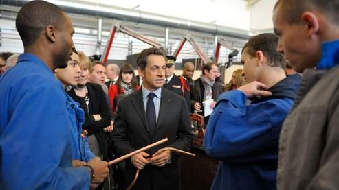 Sarkozy détaille sa grande réforme de l'alternance