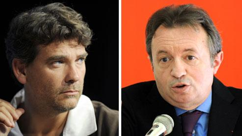 Arnaud Montebourg et Jean-Noël Guérini.