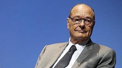 Jacques Chirac lors de la remise du prix 2010 de la Fondation Chirac pour la prévention des conflits, en novembre 2010.