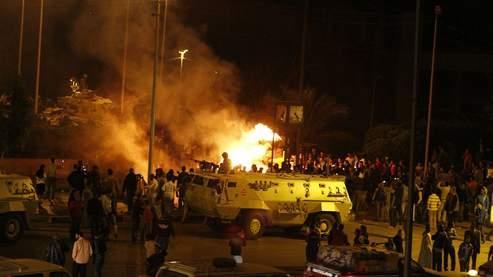 Les affrontements ont eu lieu mardi soir dans le quartier de Moqattam.