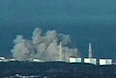 Une explosion a été entendue à la centrale nucléaire de Fukushima samedi matin.