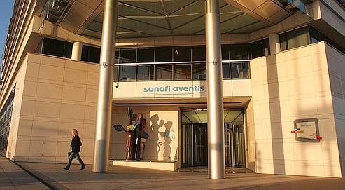 Le siège social de Sanofi-Aventis, à Paris.