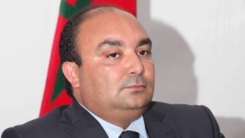 Le ministre de la Jeunesse et des Sports marocain, Moncef Belkhayat