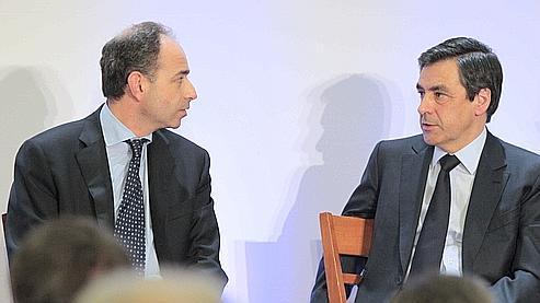 «Il y en a, disons les choses, qui y ont trouvé l'occasion d'une posture», a relevé lundi Jean-François Copé (à gauche) au sujet du débat sur la laïcité.