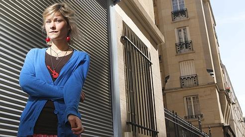 « J'aime Paris pour son mélange des genres » confie la chanteuse Giedré.