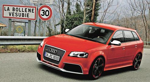 Audi RS3, elle cache bien son jeu