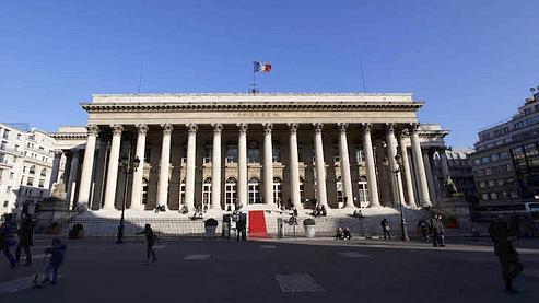 Le palais Brongniart, ancien siège de la Bourse de Paris. (Bouchon - Le Figaro)