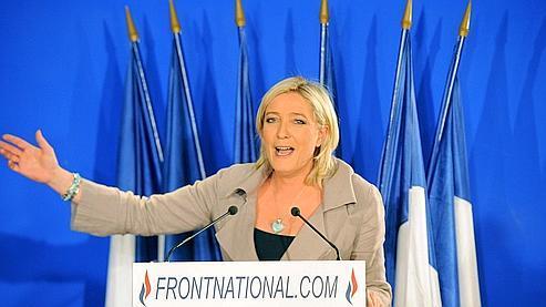 Marine Le Pen le 27 mars dernier.