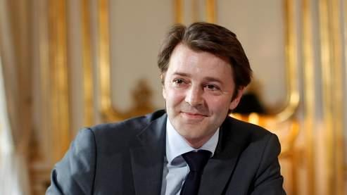François Baroin dans son bureau, mardi.