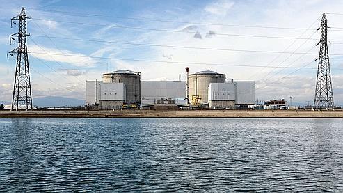 La centrale de Fessenheim le 14 mars 2011.