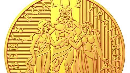 Le nouvel Hercule de 1000 euros de la Monnaie de Paris. (DR Monnaie de Paris)