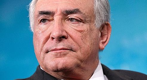Dominique Strauss-Kahn a encore précisé jeudi, lors d'une conférence de presse, que la question de son avenir «n'est pas pertinente».