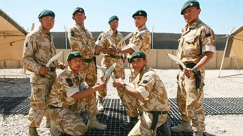 Gurkhas au service de Sa Majesté