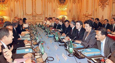 Le premier ministre a réuni le gouvernement, jeudi, à Matignon.