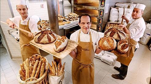 Dominique Saibron, boulanger dans le XIVe.