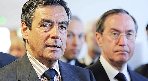 Le premier ministre François Fillon et le ministre de l'Interieur Claude Guéant le 2 mai dernier.
