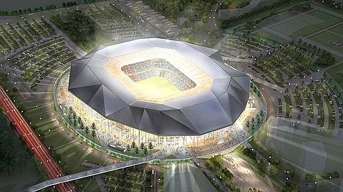 Euro 2016 1 7 milliard pour les stades de foot fran ais for Cout construction neuf
