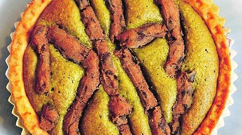Cake au matcha chez Aki (Ph : DR)