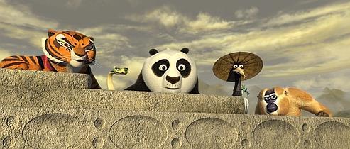 Le monde selon kung fu panda - Singe kung fu panda ...