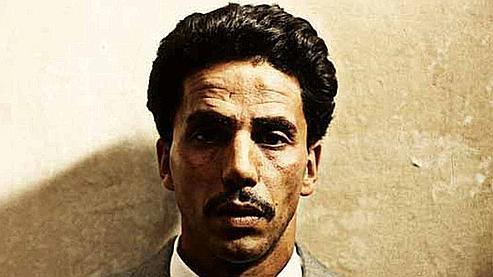 Une partie de l'affiche du film Omar m'a tuer, de Roschdy Zem.