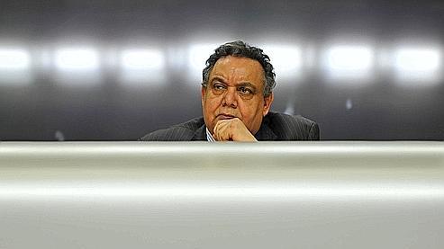 Mahmoud Shammam, porte-parole du CNT, lors d'une conférence internationale portant sur l'avenir de la Libye, le 29 mars dernier à Londres.