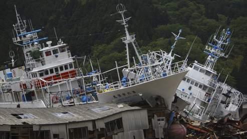 Le tsunami au Japon a coûté 147 milliards d'euros