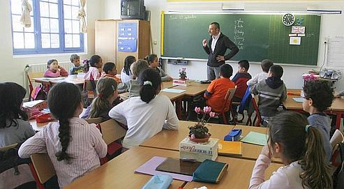 Une école du 2e arrondissement de Paris.
