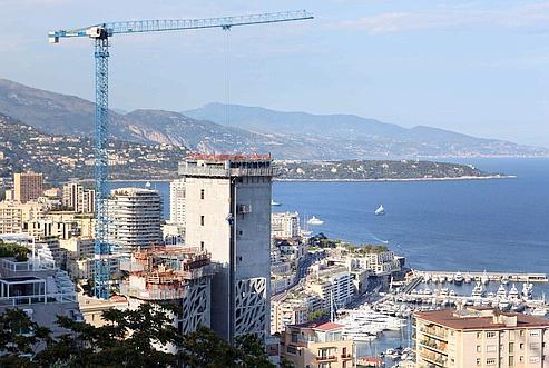 Monaco doit composer avec un espace réduit.