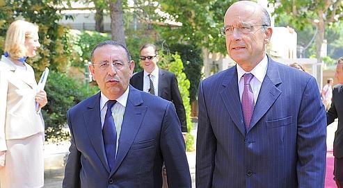 Alain Juppé était mardi à Barcelone pour l'installation du nouveau secrétaire général de l'UPM, le Marocain Youssef Amrani.
