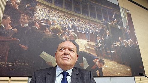 Le député socialiste René Dosière, à l'origine de la mesure parlementaire.