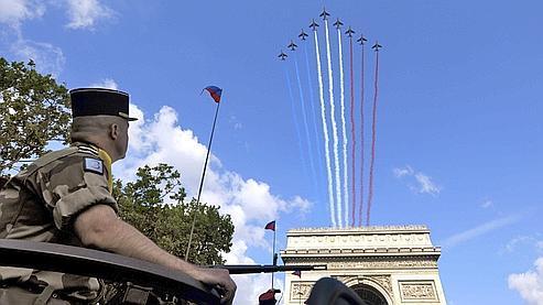 Le défilé militaire du 14 juillet, une tradition depuis 1880.